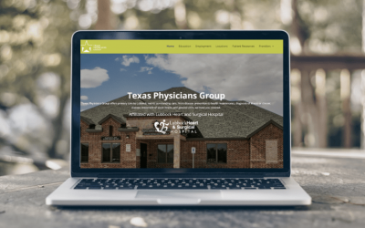 Texas Physicians Group: New Website