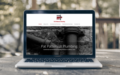 Pat Patterson Plumbing: New Website